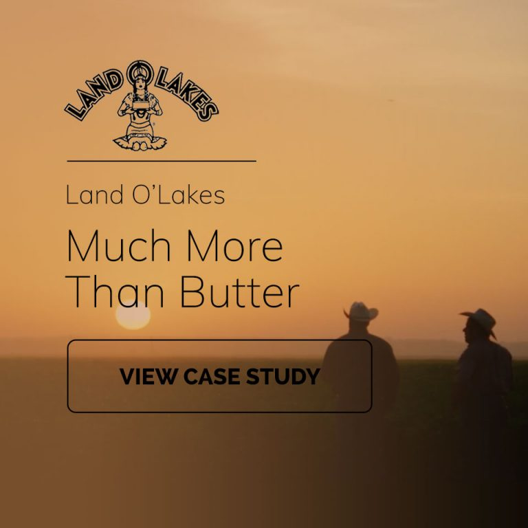 Land O'Lakes Case Study Video Production