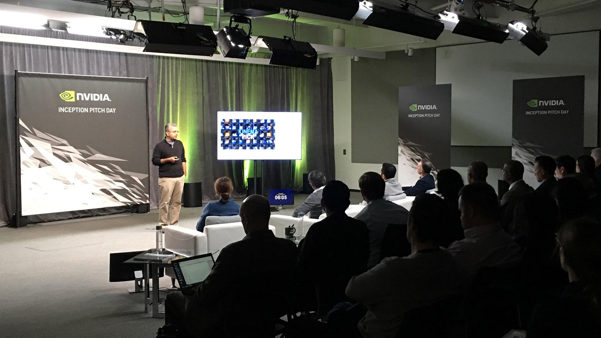 Big Picture Live Studio at Nvidia Inception Pitch Event - Big Picture