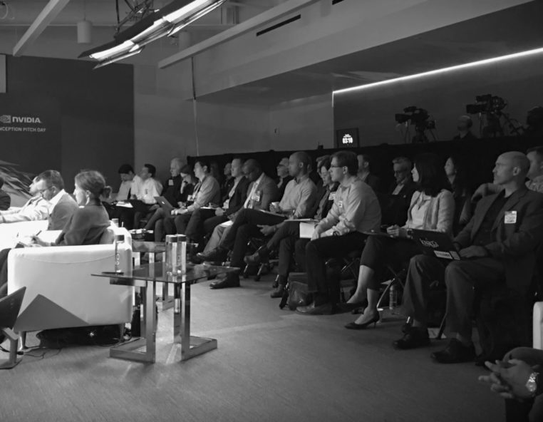 Live Studio Audience at Nvidia Inception Pitch Event 2018